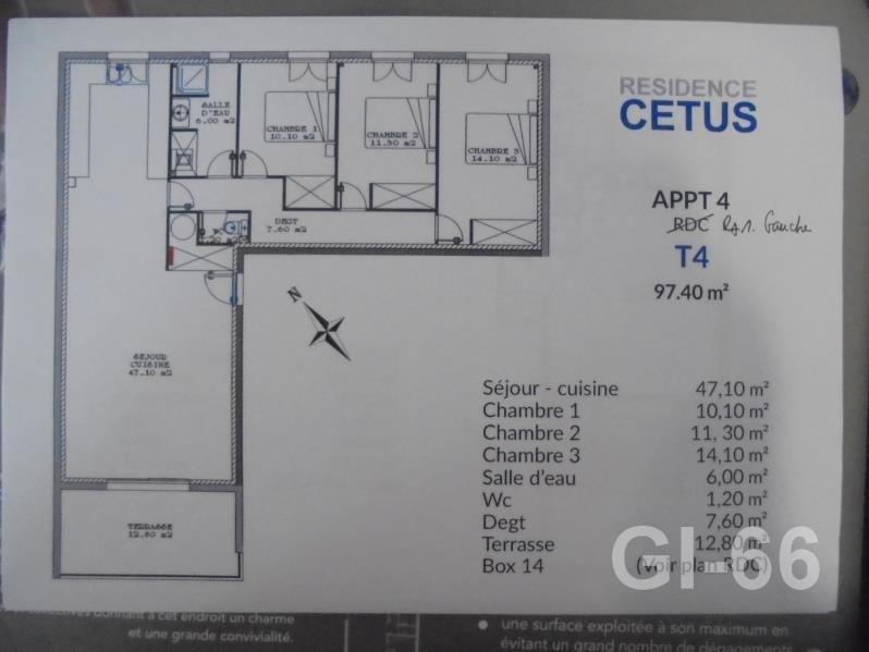 Sale apartment Perpignan 262500€ - Picture 2