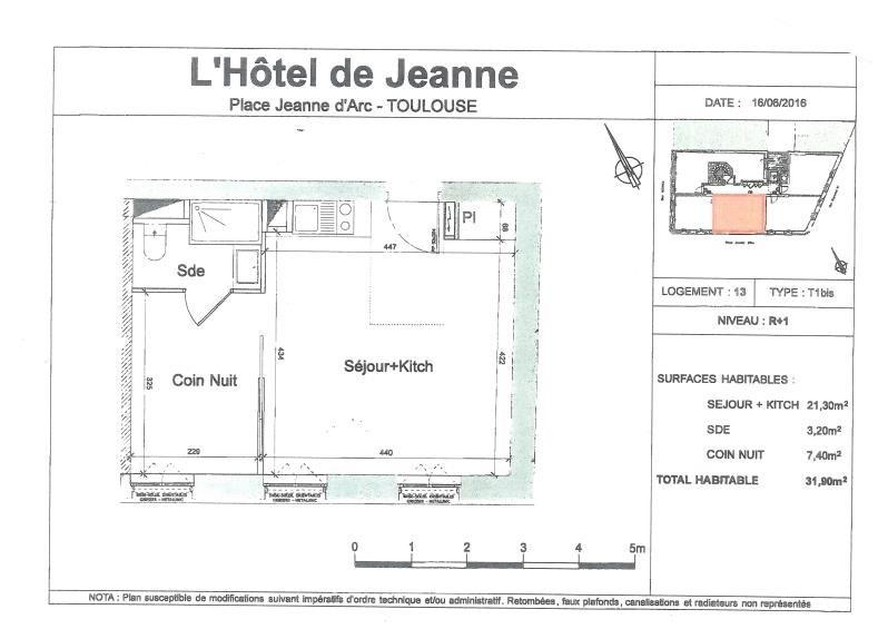 Vendita appartamento Toulouse 186560€ - Fotografia 2
