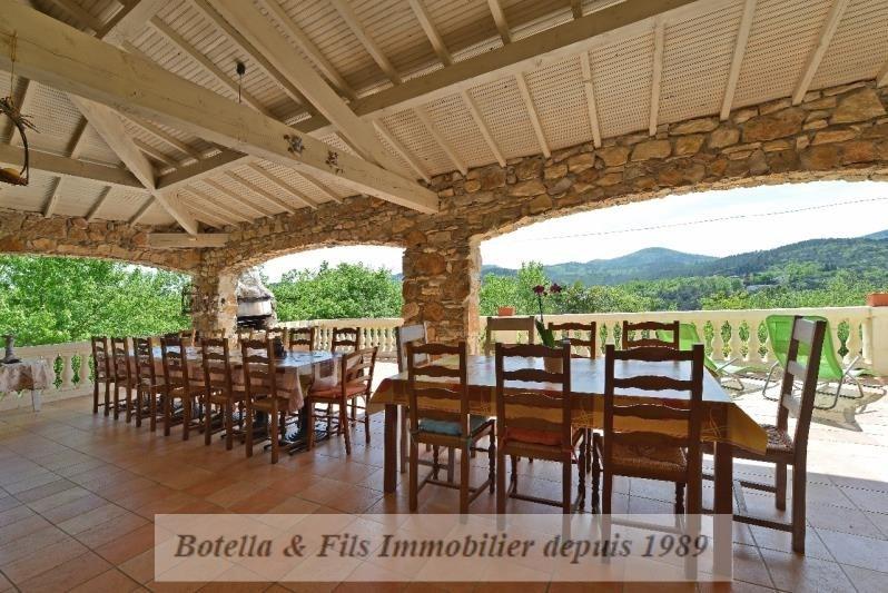 Deluxe sale house / villa Les vans 598000€ - Picture 2