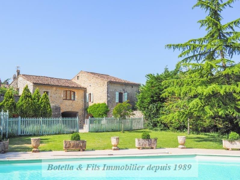 Venta de prestigio  casa Uzes 825000€ - Fotografía 2