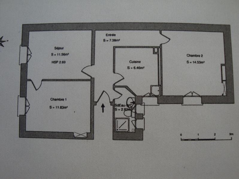 Location appartement Paris 15ème 1595€ CC - Photo 1