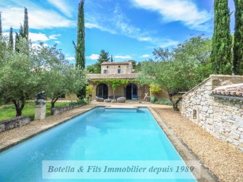 Verkoop van prestige  huis Uzes 583000€ - Foto 1