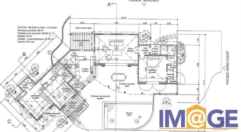 Venta de prestigio  casa St martin 650000€ - Fotografía 5