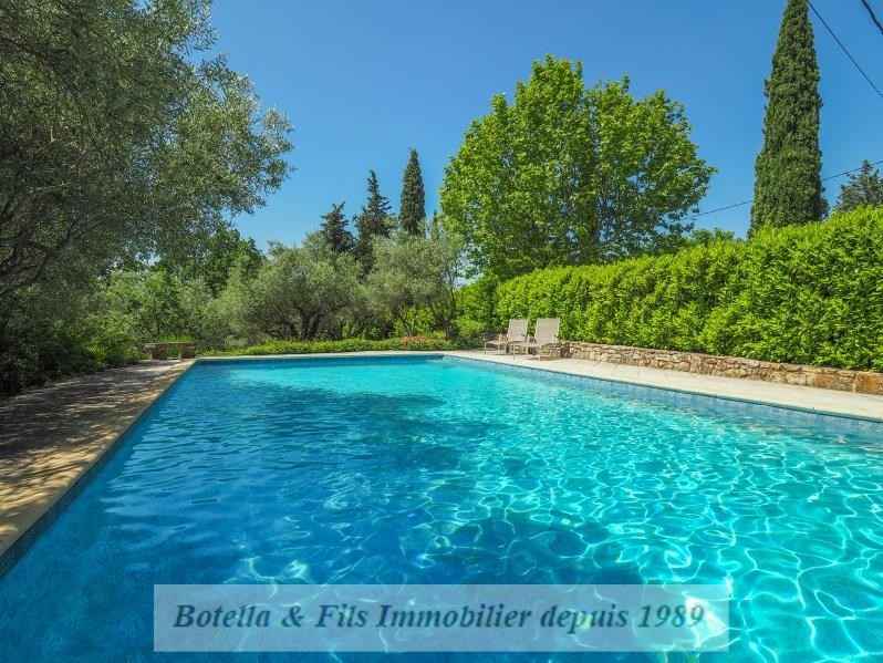 Deluxe sale chateau Uzes 1985000€ - Picture 4