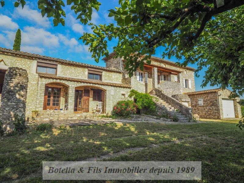 Sale house / villa Goudargues 460 000€ - Picture 1