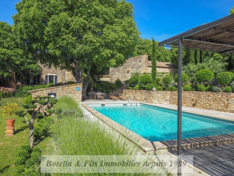 Immobile residenziali di prestigio casa Uzes 1200000€ - Fotografia 2