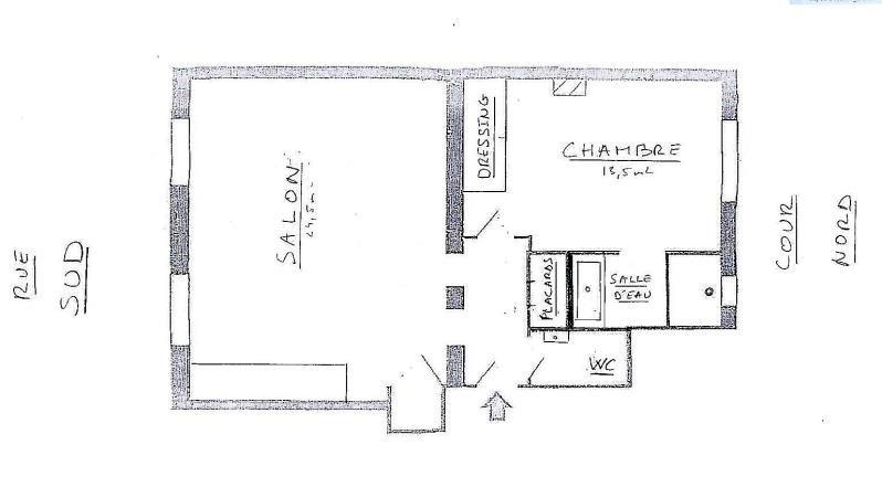Vente appartement Paris 18ème 475000€ - Photo 10