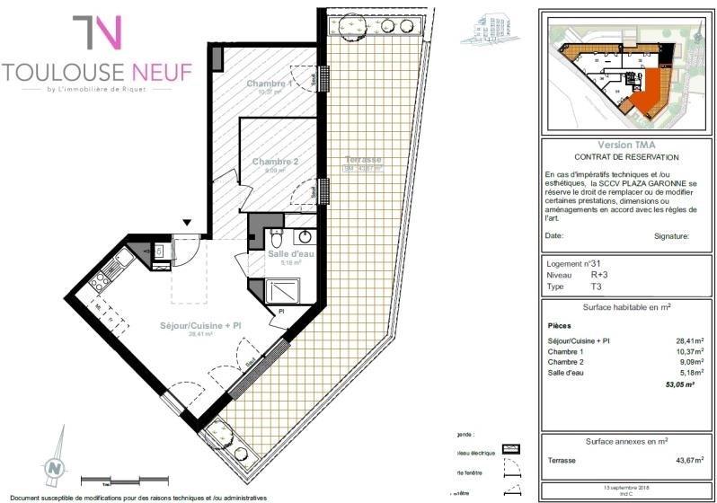 Vente appartement Toulouse 284000€ - Photo 8