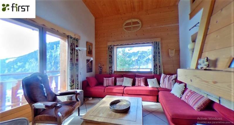 Venta de prestigio  casa La giettaz 682500€ - Fotografía 2