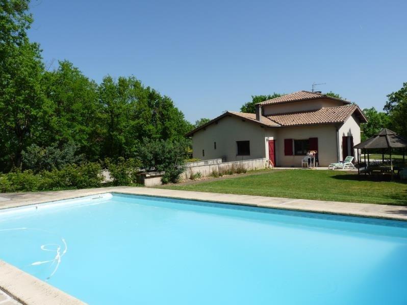 Deluxe sale house / villa Bon encontre 431600€ - Picture 1