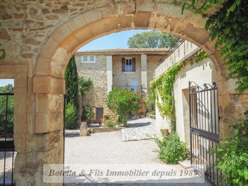 Immobile residenziali di prestigio casa Uzes 1196000€ - Fotografia 4