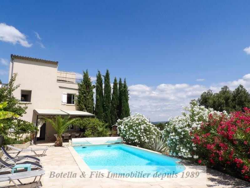 Vente de prestige maison / villa Barjac 624000€ - Photo 2