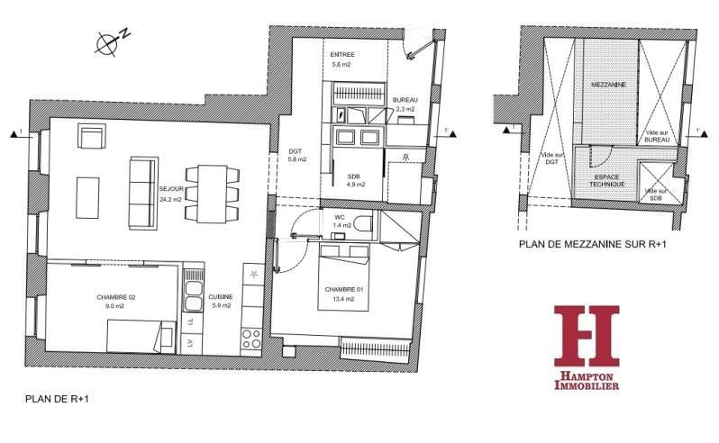 Vente appartement Paris 19ème 680000€ - Photo 10