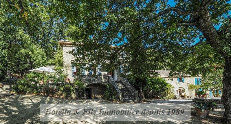 Vente de prestige maison / villa Uzes 1295000€ - Photo 1