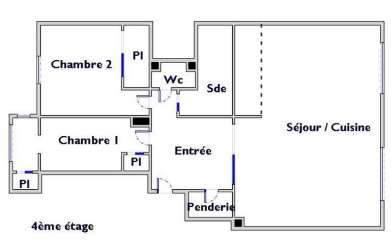 Vente appartement Paris 15ème 635000€ - Photo 9