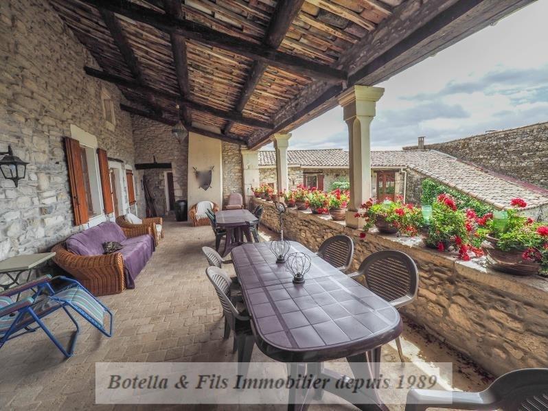 Venta de prestigio  casa Uzes 1055000€ - Fotografía 4