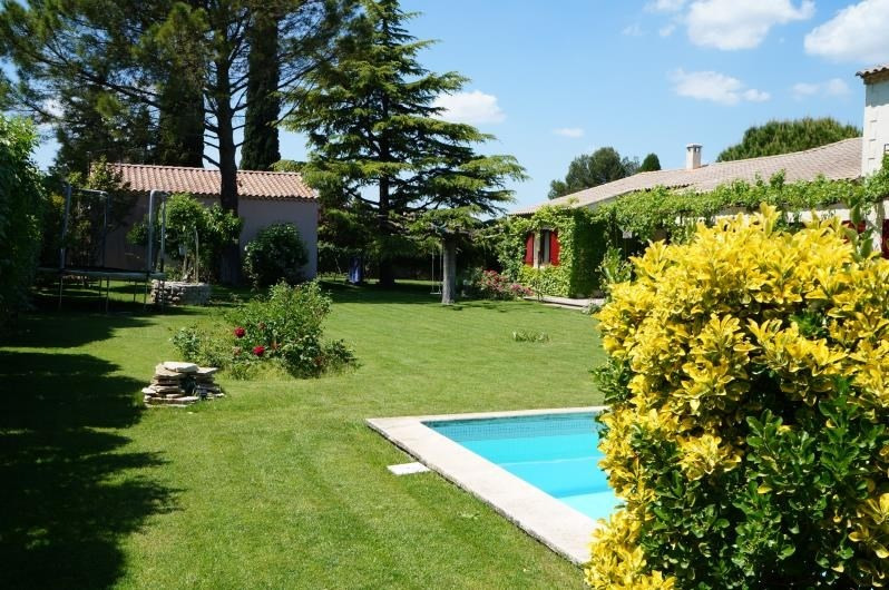 Verkauf von luxusobjekt haus St remy de provence 1155000€ - Fotografie 2
