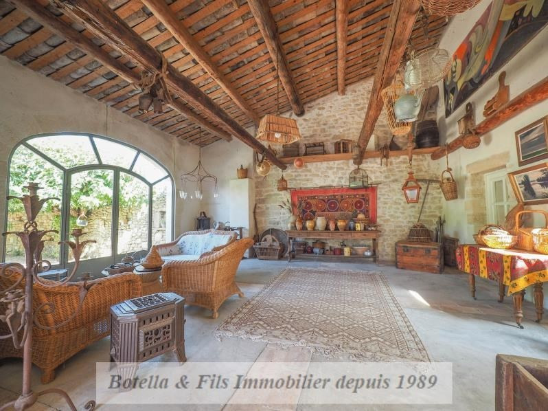 Venta de prestigio  casa Uzes 1690000€ - Fotografía 10