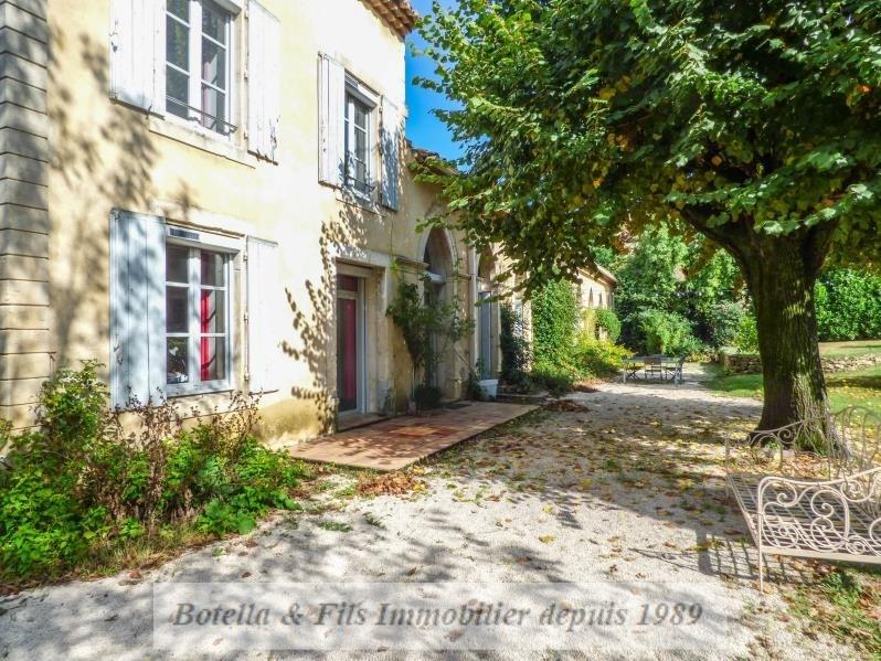 Vente de prestige maison / villa Bagnols sur ceze 498000€ - Photo 1