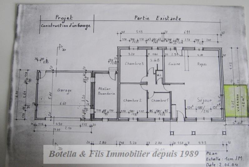 Venta  casa Barjac 279000€ - Fotografía 12