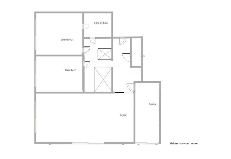 Vente appartement Puteaux 613000€ - Photo 2