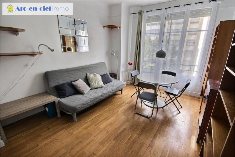 Verkoop  appartement Paris 15ème 449000€ - Foto 1