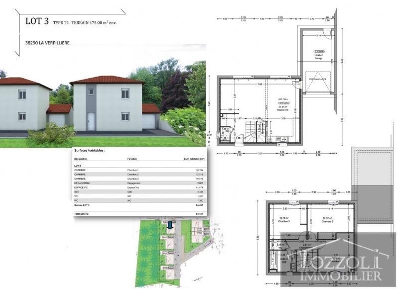 Vente maison / villa La verpilliere 223000€ - Photo 3