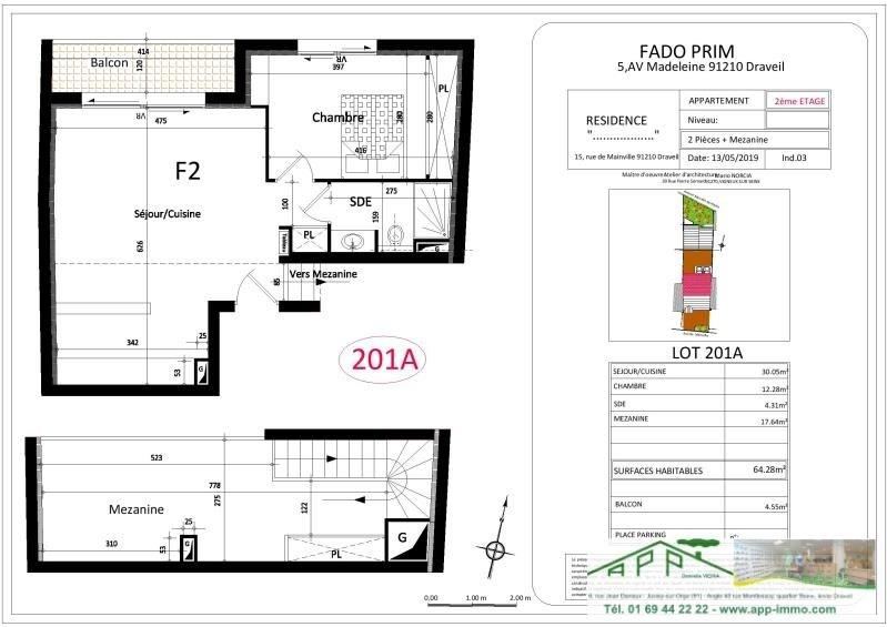 Vente appartement Draveil 299000€ - Photo 2
