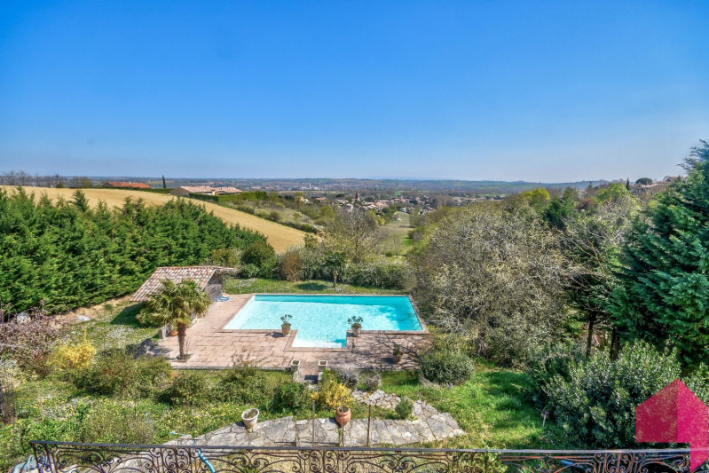 Deluxe sale house / villa Villefranche de lauragais secteur 520000€ - Picture 2