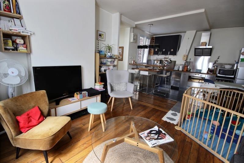 Verkoop  appartement Paris 18ème 499000€ - Foto 2