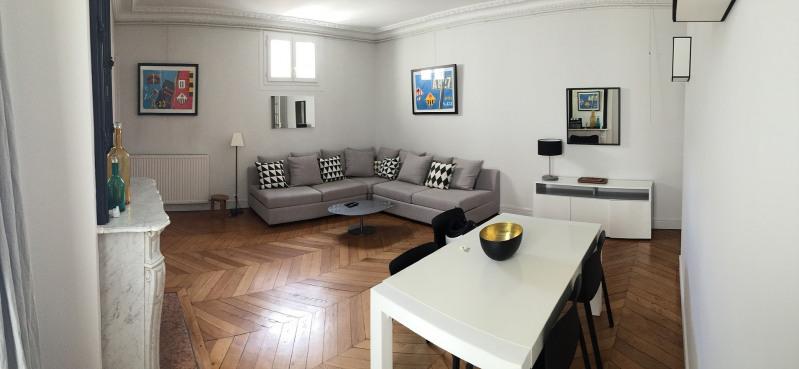 Rental apartment Paris 17ème 2700€ CC - Picture 2