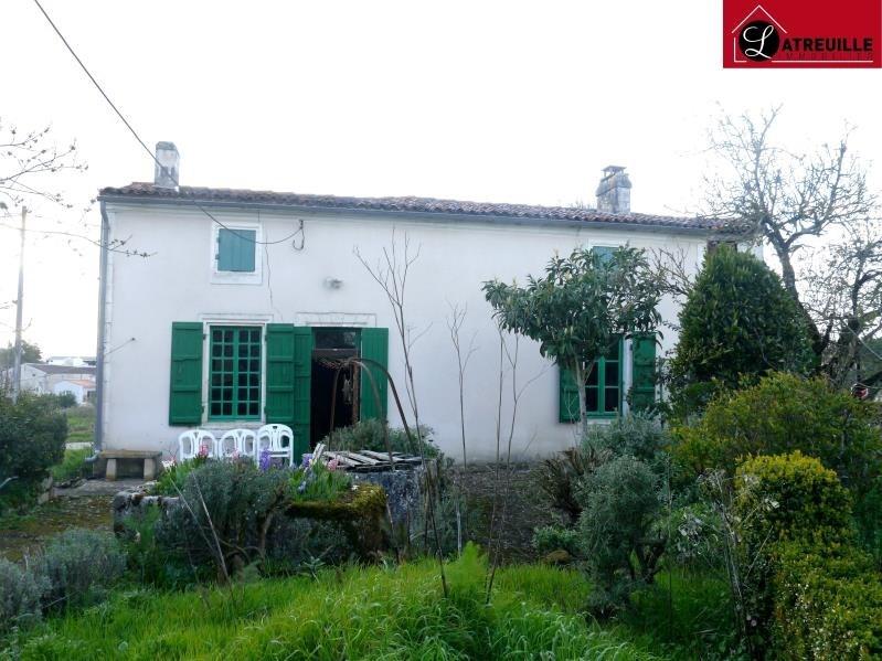 Vente maison / villa St simon de pellouaille 81000€ - Photo 1