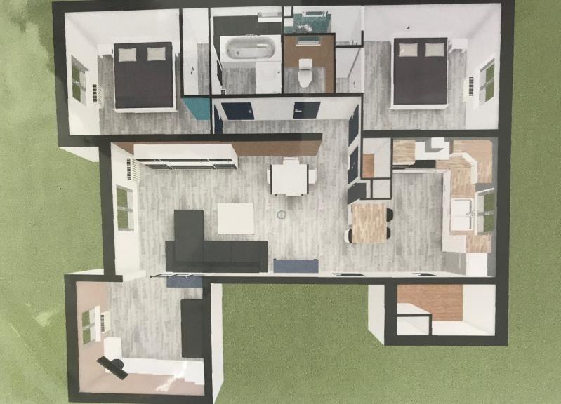 Vente appartement Nimes 210000€ - Photo 7