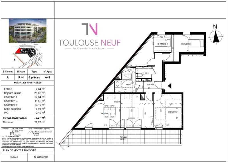 Vente appartement Tournefeuille 283 000€ - Photo 6