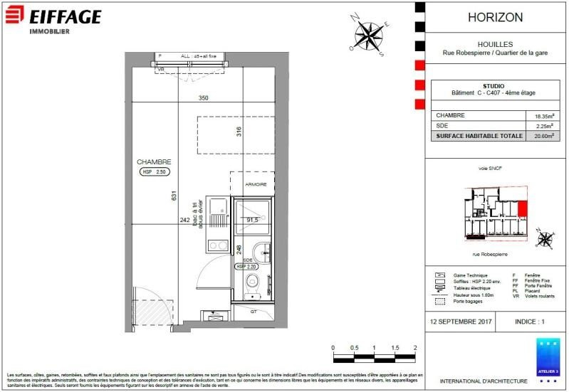 Investment property apartment Houilles 162019€ - Picture 2