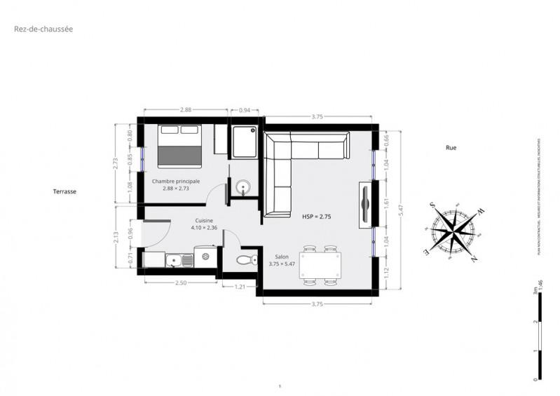 Vente appartement Paris 17ème 399000€ - Photo 9