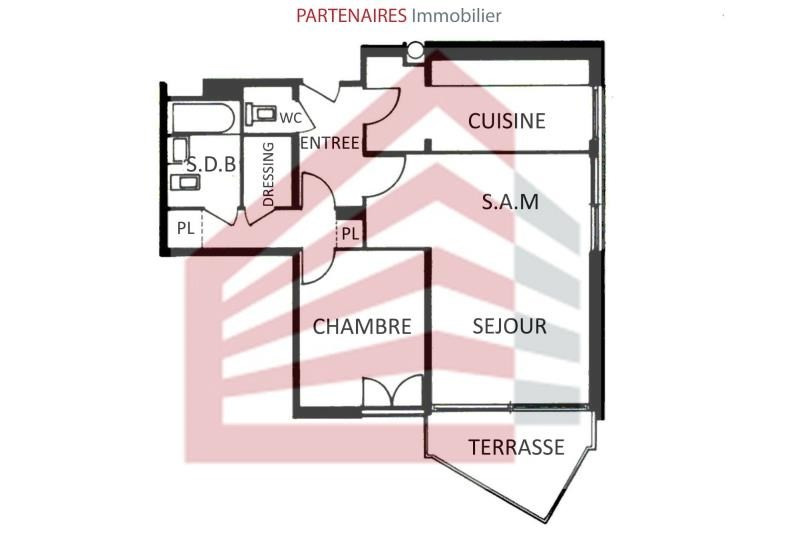 Sale apartment Le chesnay 245 000€ - Picture 5