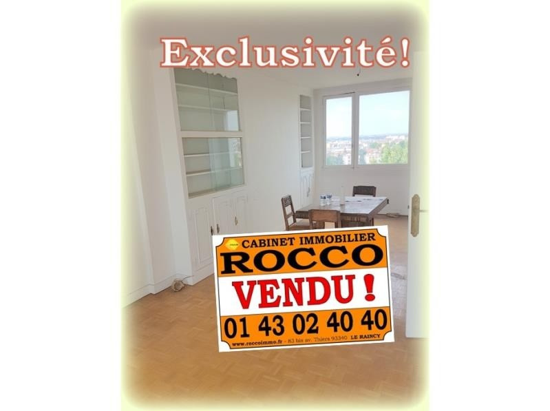 Vente appartement Le raincy 178 000€ - Photo 1