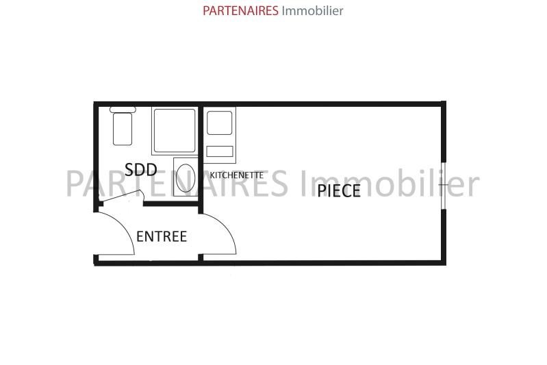 Sale apartment Versailles 108 000€ - Picture 6