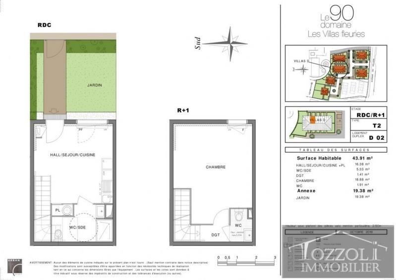 Sale house / villa Villefontaine 135000€ - Picture 2