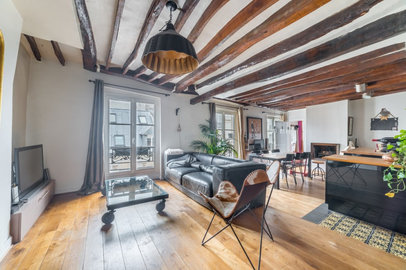 Vente de prestige appartement Paris 18ème 1 099 000€ - Photo 1