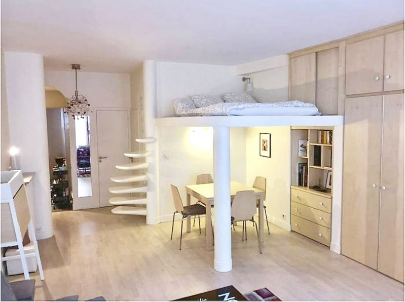 Sale apartment Paris 7ème 490 000€ - Picture 1