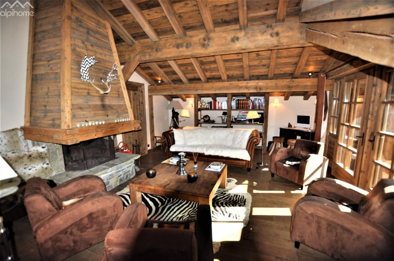 Deluxe sale house / villa Megeve 1 390 000€ - Picture 1