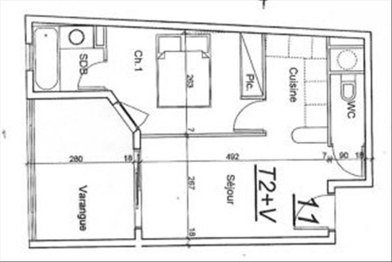Vente appartement Sainte clotilde 65000€ - Photo 6