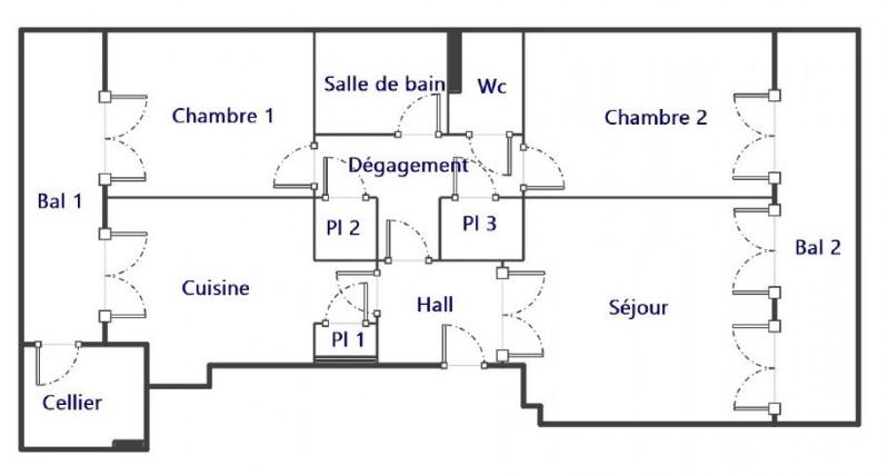 Location appartement Marseille 7ème 800€ CC - Photo 7