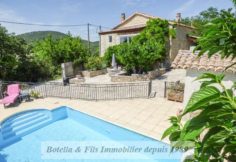Vente maison / villa Barjac 285000€ - Photo 1