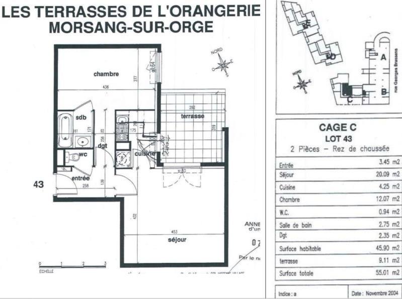 Vente appartement Morsang sur orge 147900€ - Photo 9