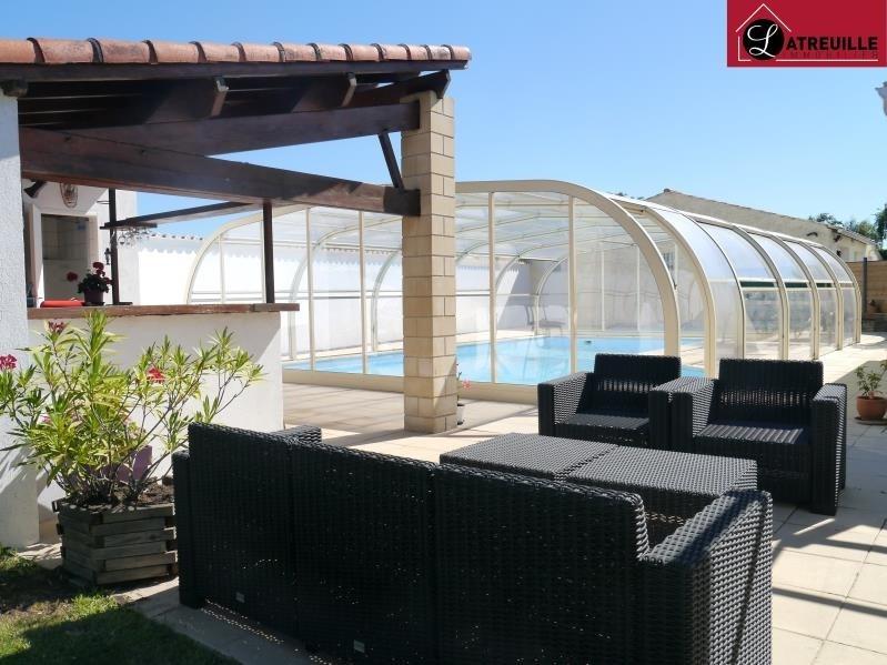 Vente maison / villa Gemozac 365050€ - Photo 1