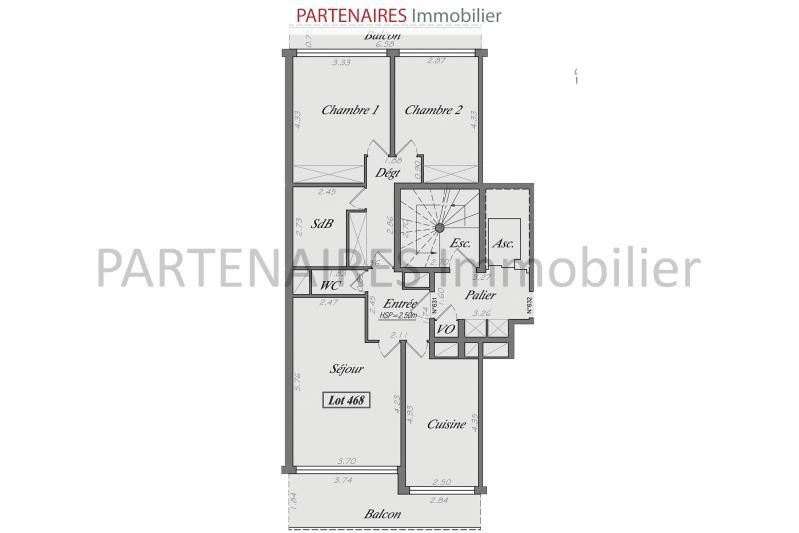 Vente appartement Le chesnay rocquencourt 417 000€ - Photo 8