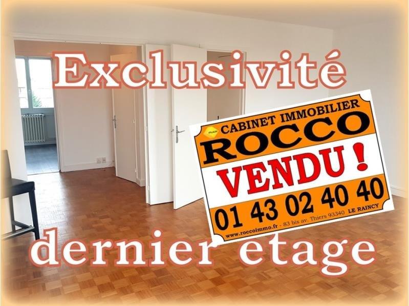 Sale apartment Gagny 168000€ - Picture 1